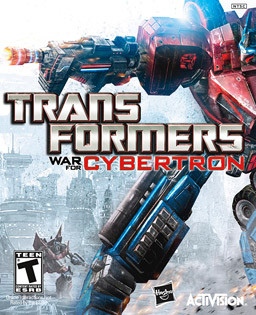 Transformers: War for Cybertron Book Cover
